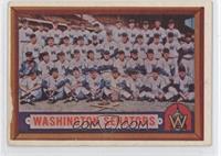 Washington Senators Team [PoortoFair]