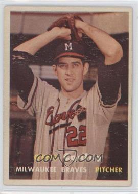 1957 Topps - [Base] #28 - Gene Conley