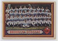 Scarce Series - Brooklyn Dodgers Team [NoneGoodtoVG‑EX]