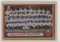 Scarce Series - Brooklyn Dodgers Team [Poor]