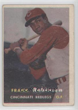 1957 Topps - [Base] #35 - Frank Robinson [Good to VG‑EX]