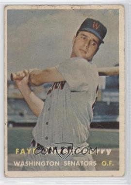 1957 Topps - [Base] #356 - Faye Throneberry