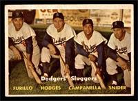 Dodgers' Sluggers (Furillo, Hodges, Campanella, Snider) [FAIR]