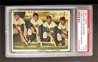 Dodgers' Sluggers (Furillo, Hodges, Campanella, Snider) [PSA5]