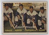 Dodgers' Sluggers (Furillo, Hodges, Campanella, Snider) [PoortoFair]