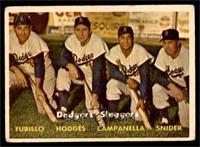 Dodgers' Sluggers (Furillo, Hodges, Campanella, Snider) [GOOD]
