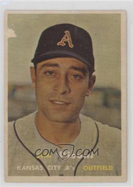 1957 Topps - [Base] #402 - Jim Pisoni [Poor]