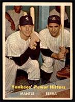 Yankees' Power Hitters (Mickey Mantle, Yogi Berra) [VGEX]