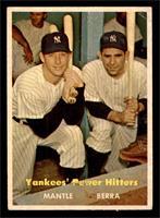Yankees' Power Hitters (Mickey Mantle, Yogi Berra) [VG+]