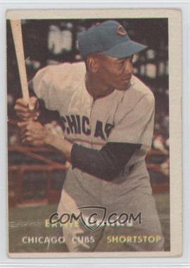 1957 Topps - [Base] #55 - Ernie Banks [GoodtoVG‑EX]