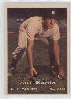 1957 Topps - [Base] #62 - Billy Martin