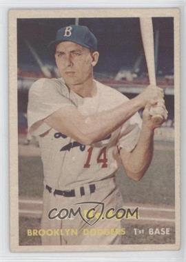 1957 Topps - [Base] #80 - Gil Hodges [GoodtoVG‑EX]