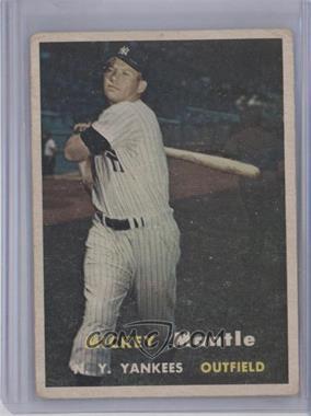 1957 Topps - [Base] #95 - Mickey Mantle [GoodtoVG‑EX]