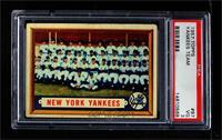 New York Yankees Team [PSA3VG]
