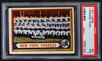 New York Yankees Team [PSA 7]