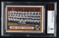 New York Yankees Team [BVG6EX‑MT]