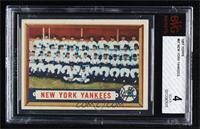 New York Yankees Team [BVG4VG‑EX]