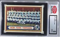 New York Yankees Team [ENCASED]
