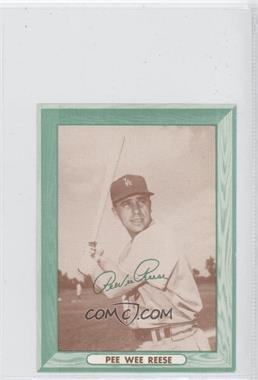1958 Bell Brand Los Angeles Dodgers - [Base] #N/A - Pee Wee Reese
