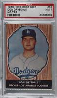 Don Drysdale [PSA 7 NM]