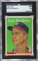 Lou Burdette [SGC84]