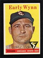 Early Wynn (team name in white)