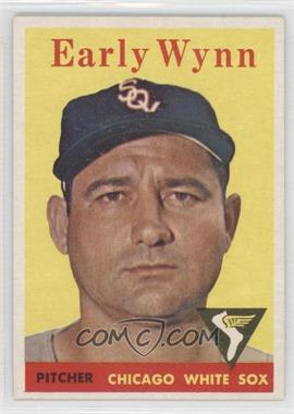 1958 Topps - [Base] #100.1 - Early Wynn (team name in white)