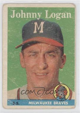 1958 Topps - [Base] #110 - Johnny Logan