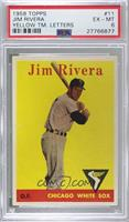 Jim Rivera (team name in yellow) [PSA6EX‑MT]