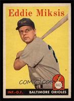 Eddie Miksis [NM]