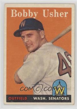 1958 Topps - [Base] #124 - Bob Usher