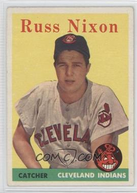 1958 Topps - [Base] #133 - Russ Nixon