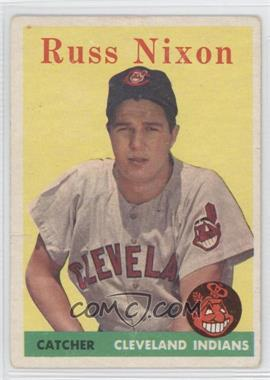 1958 Topps - [Base] #133 - Russ Nixon [GoodtoVG‑EX]