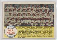 Philadelphia Phillies Team Checklist 89-176 [PoortoFair]