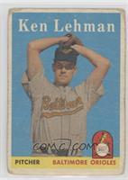 Ken Lehman [Poor]