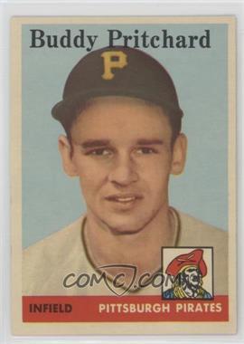 1958 Topps - [Base] #151 - Buddy Pritchard [PoortoFair]