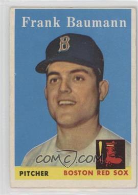 1958 Topps - [Base] #167 - Frank Baumann [PoortoFair]