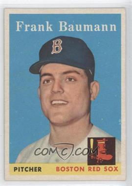 1958 Topps - [Base] #167 - Frank Baumann