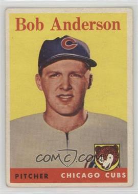 1958 Topps - [Base] #209 - Bob Anderson [Poor]