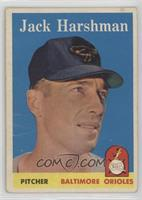 Jack Harshman [Poor]
