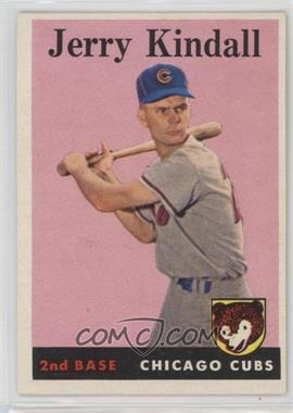 1958 Topps - [Base] #221 - Jerry Kindall [Poor to Fair]