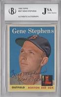 Gene Stephens [JSACertifiedEncasedbyBCCG]
