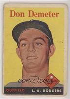 Don Demeter [NonePoortoFair]