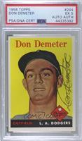 Don Demeter [PSA/DNACertifiedEncased]