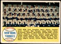 New York Yankees Team [VG+]