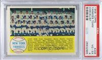 New York Yankees Team [PSA4VG‑EX]