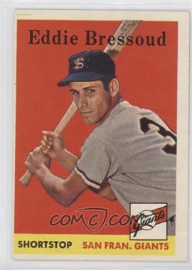 1958 Topps - [Base] #263 - Eddie Bressoud