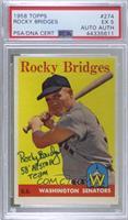 Rocky Bridges [PSA/DNACertifiedEncased]