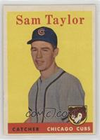 Sammy Taylor [Poor to Fair]