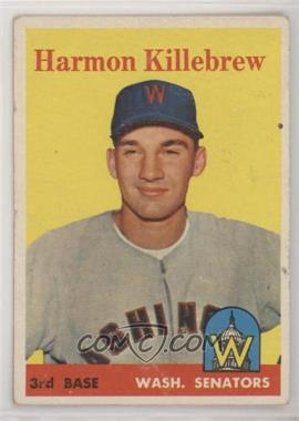 1958 Topps - [Base] #288 - Harmon Killebrew [PoortoFair]
